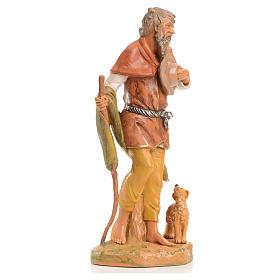 Pastor con perro 30 cm Fontanini s4