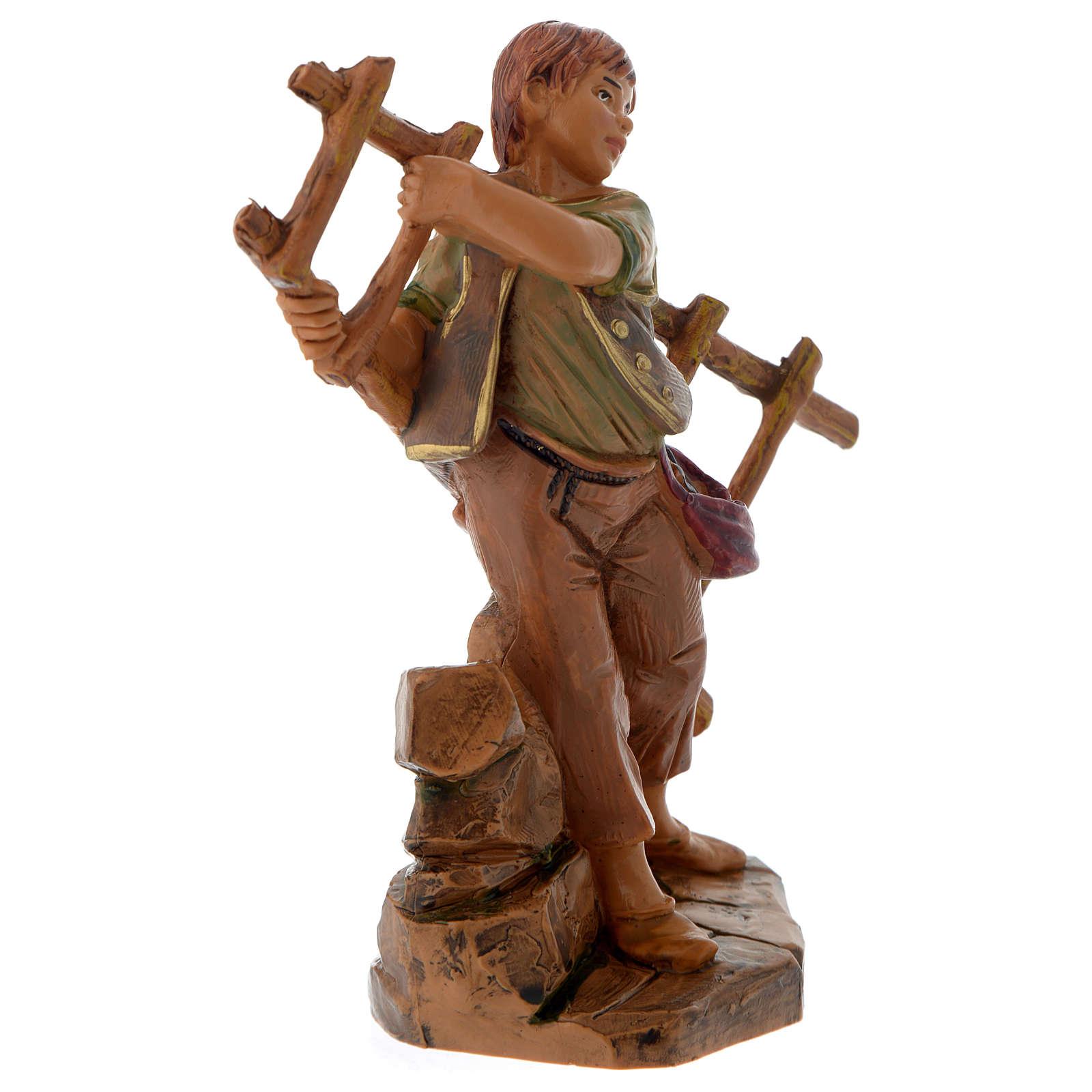 Chłopiec z drabiną 12 cm Fontanini 4