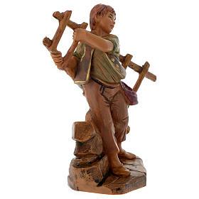 Rapaz com escada de mão 12 cm Fontanini s2