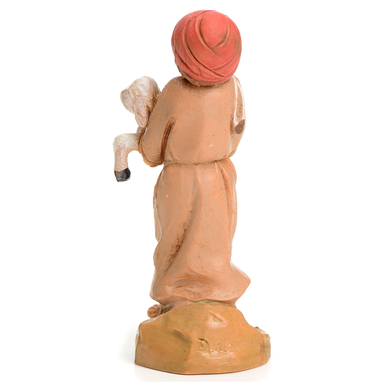 Bimbo con pecora 9,5 cm Fontanini 3