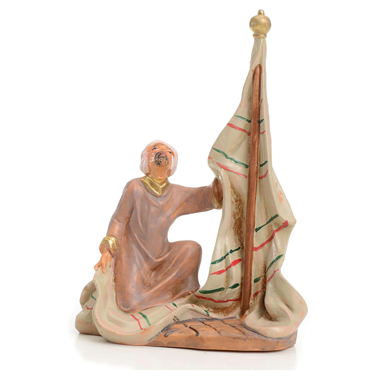 Uomo con tenda 9,5 cm Fontanini 3