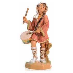 Santons crèche: Garçon au tambour crèche 9,5 cm Fontanini