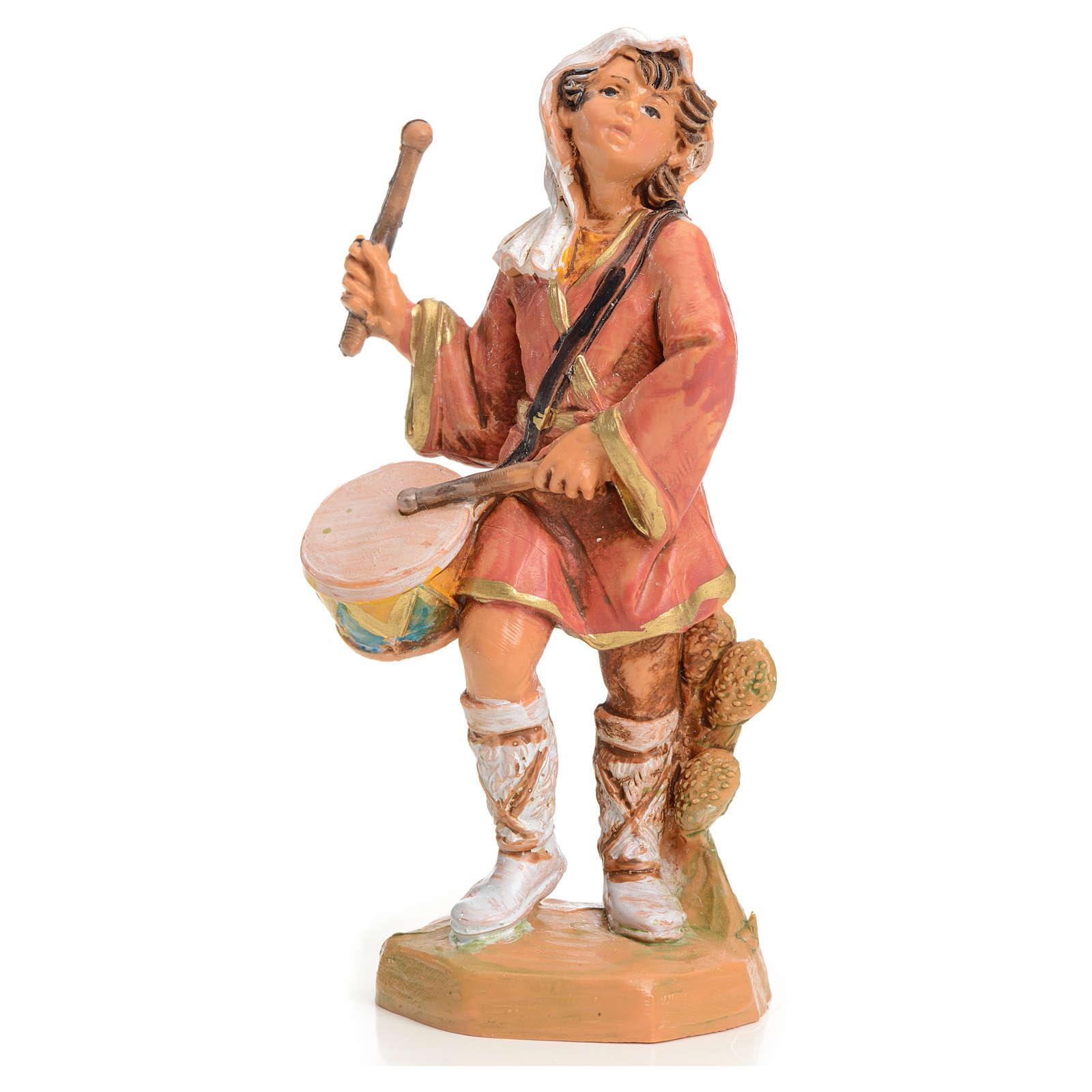 Pastore con tamburo 9,5 cm Fontanini 3