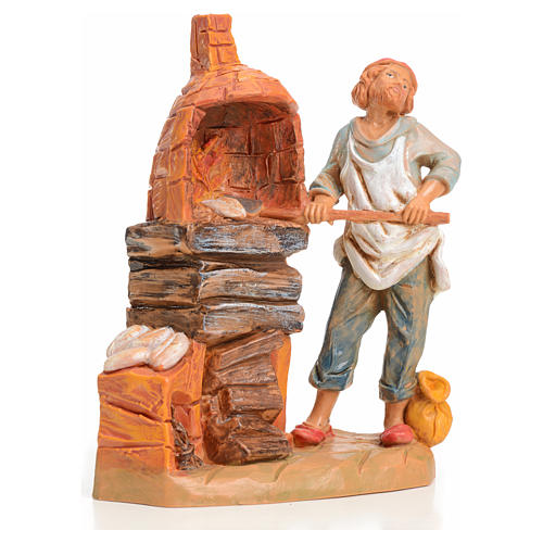 Boulanger crèche 9,5 cm Fontanini 1