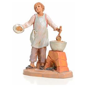 Vendedor de castañas asadas 9,5cm Fontanini s1