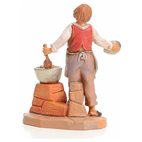 Vendedor de castañas asadas 9,5cm Fontanini 2