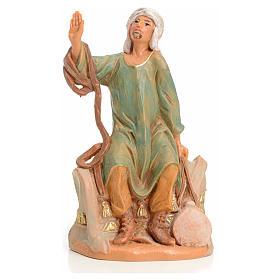 Figuras del Belén: Camellero sentado 9,5cm Fontanini