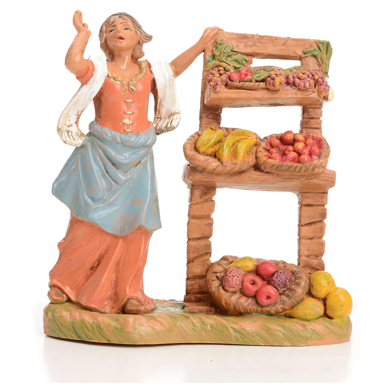 Vendedora de fruta 9,5 cm Fontanini 4