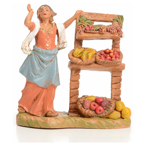 Vendedora de fruta 9,5 cm Fontanini 1