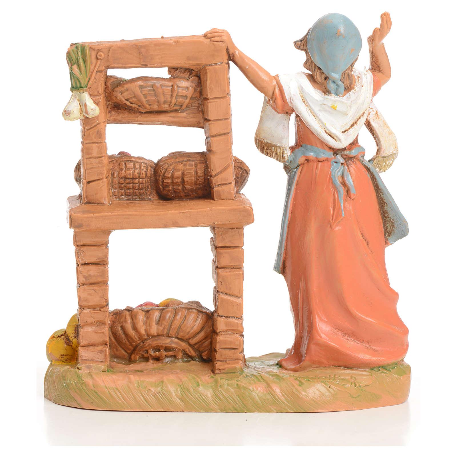 Sprzedawczyni owoców 9.5 cm Fontanini 3