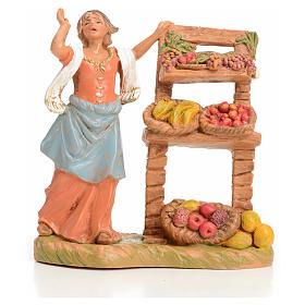 Sprzedawczyni owoców 9.5 cm Fontanini s1