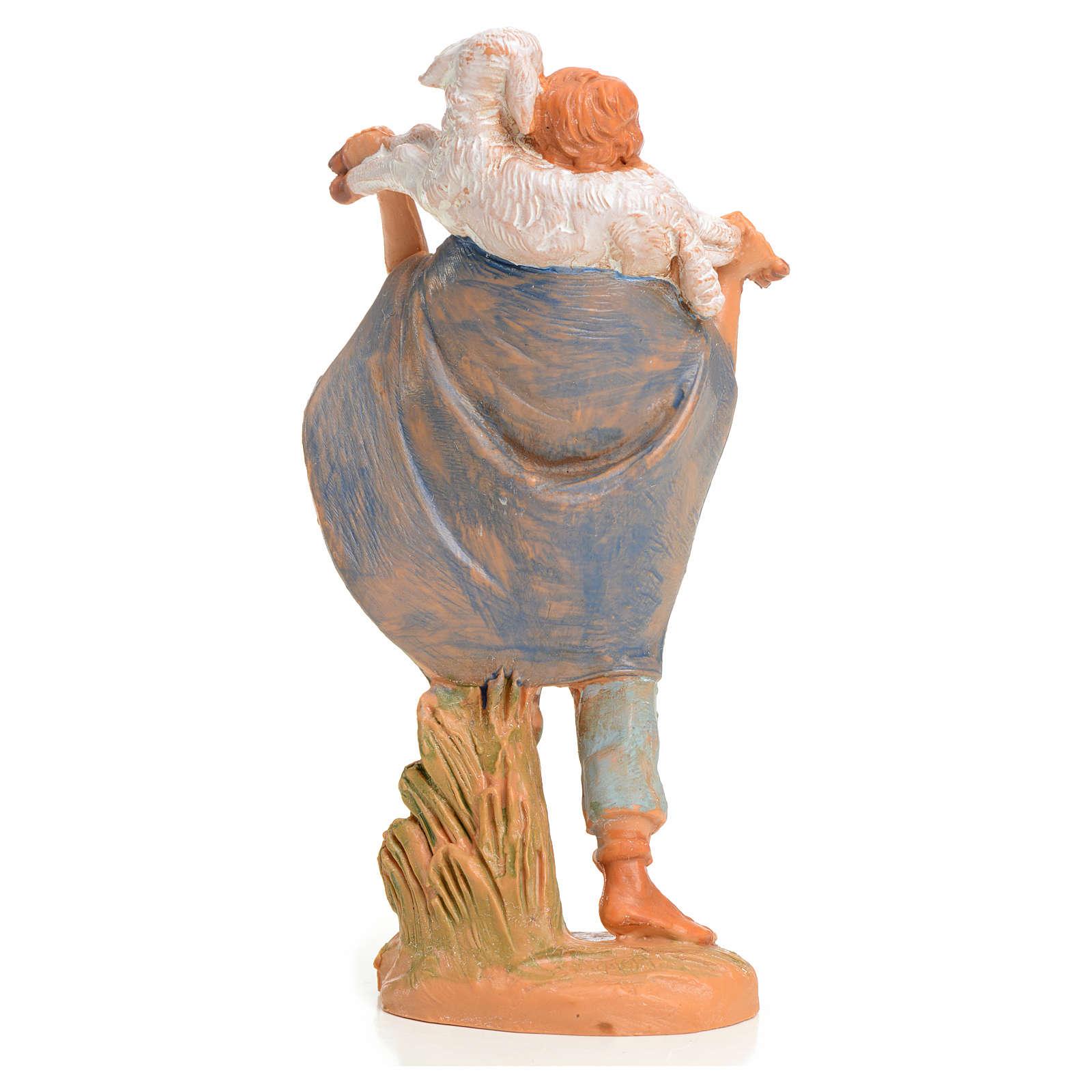 Ragazzo con agnello 9,5 cm Fontanini 3
