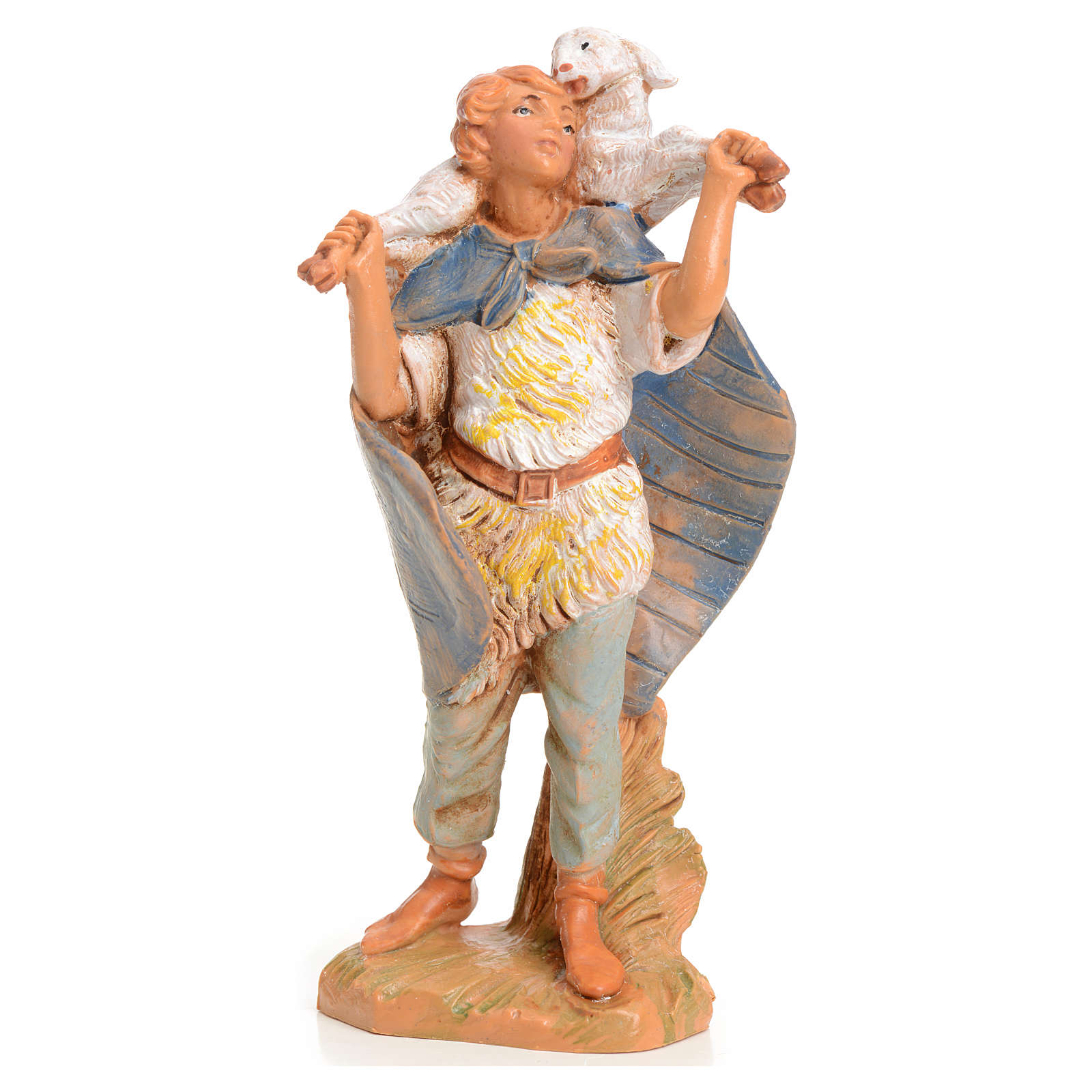 Rapaz com cordeiro 9,5 cm Fontanini 4