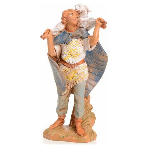Rapaz com cordeiro 9,5 cm Fontanini 1
