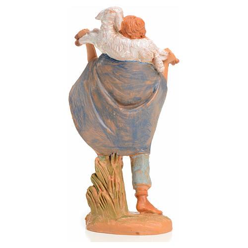 Rapaz com cordeiro 9,5 cm Fontanini 2