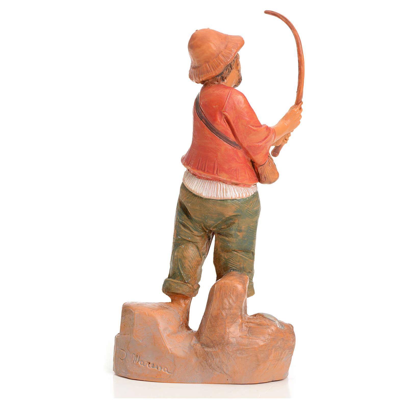 Pêcheur crèche 9,5 cm Fontanini 3