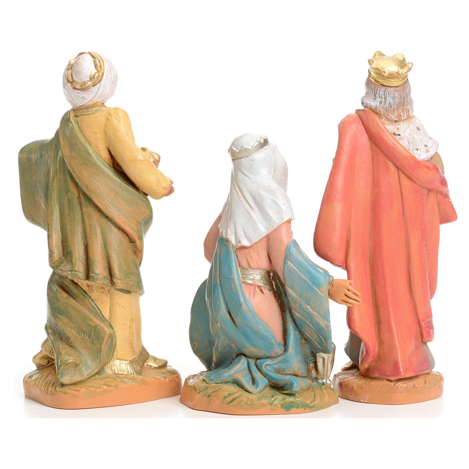 Trois Rois Mages crèche 9,5 cm Fontanini 4