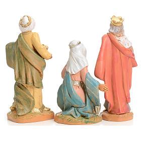 Trois Rois Mages crèche 9,5 cm Fontanini s2