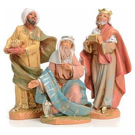 Statue per presepi: Tre Re Magi 9,5 cm Fontanini