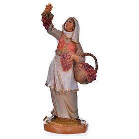 Pastora con uvas 6,5cm Fontanini s9