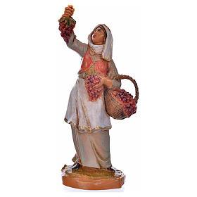 Pastora con uvas 6,5cm Fontanini s1