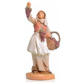 Pastora con uvas 6,5cm Fontanini s3