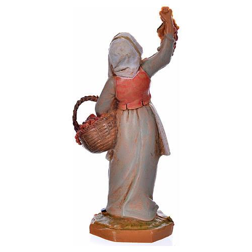 Pastora con uvas 6,5cm Fontanini 2
