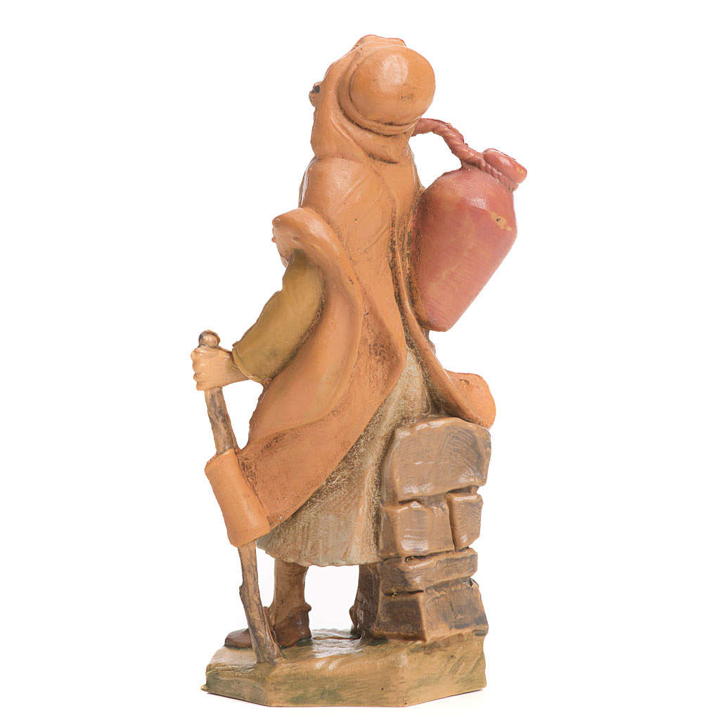 Jovén con bastón y jarrón 6,5cm Fontanini 3
