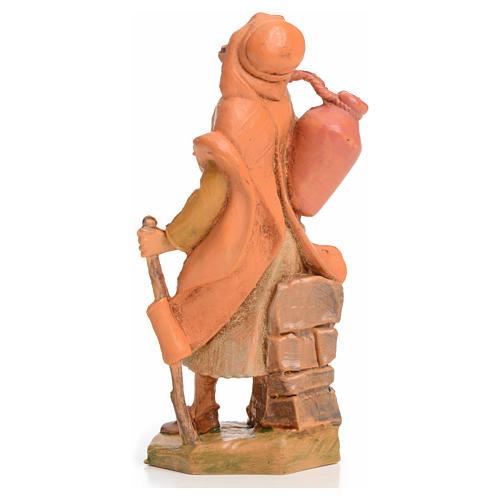 Pastor com bastão e ânfora 6,5 cm Fontanini 6