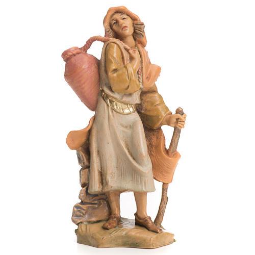 Pastor com bastão e ânfora 6,5 cm Fontanini 1
