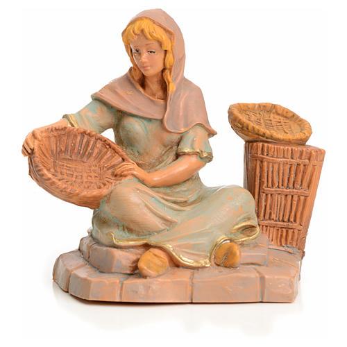 Pastora con bandeja 6,5 cm Fontanini 3