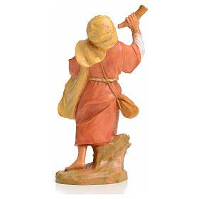 Pastor con el cuerno 6,5 cm Fontanini s2