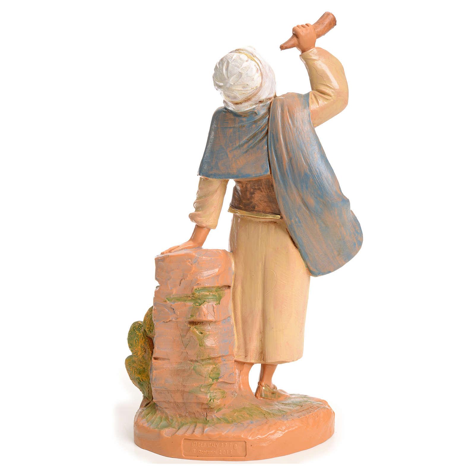 Pastor con cuerno 19 cm Fontanini 3