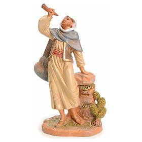 Pastor con cuerno 19 cm Fontanini s1