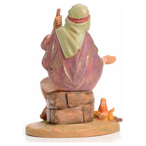 Pastor con fuego 12 cm Fontanini 2