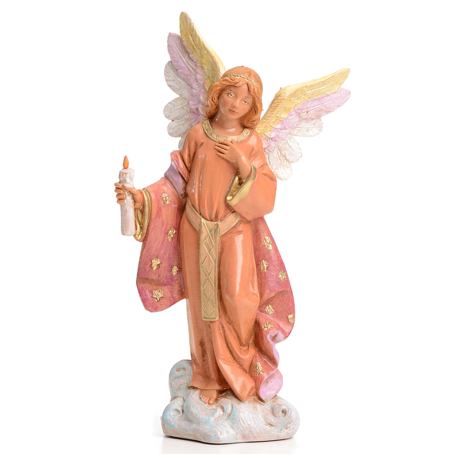 Ángel con vela 15 cm Fontanini 3