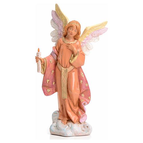 Ángel con vela 15 cm Fontanini 1