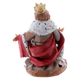 Roi Mage blanc crèche 15 cm  Fontanini s2