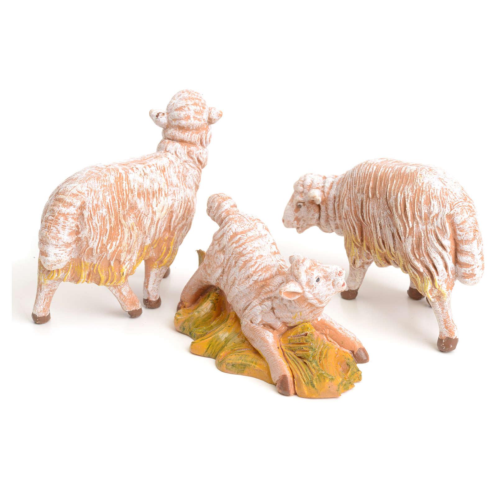 Pecore set 3 pezzi 15 cm Fontanini 3