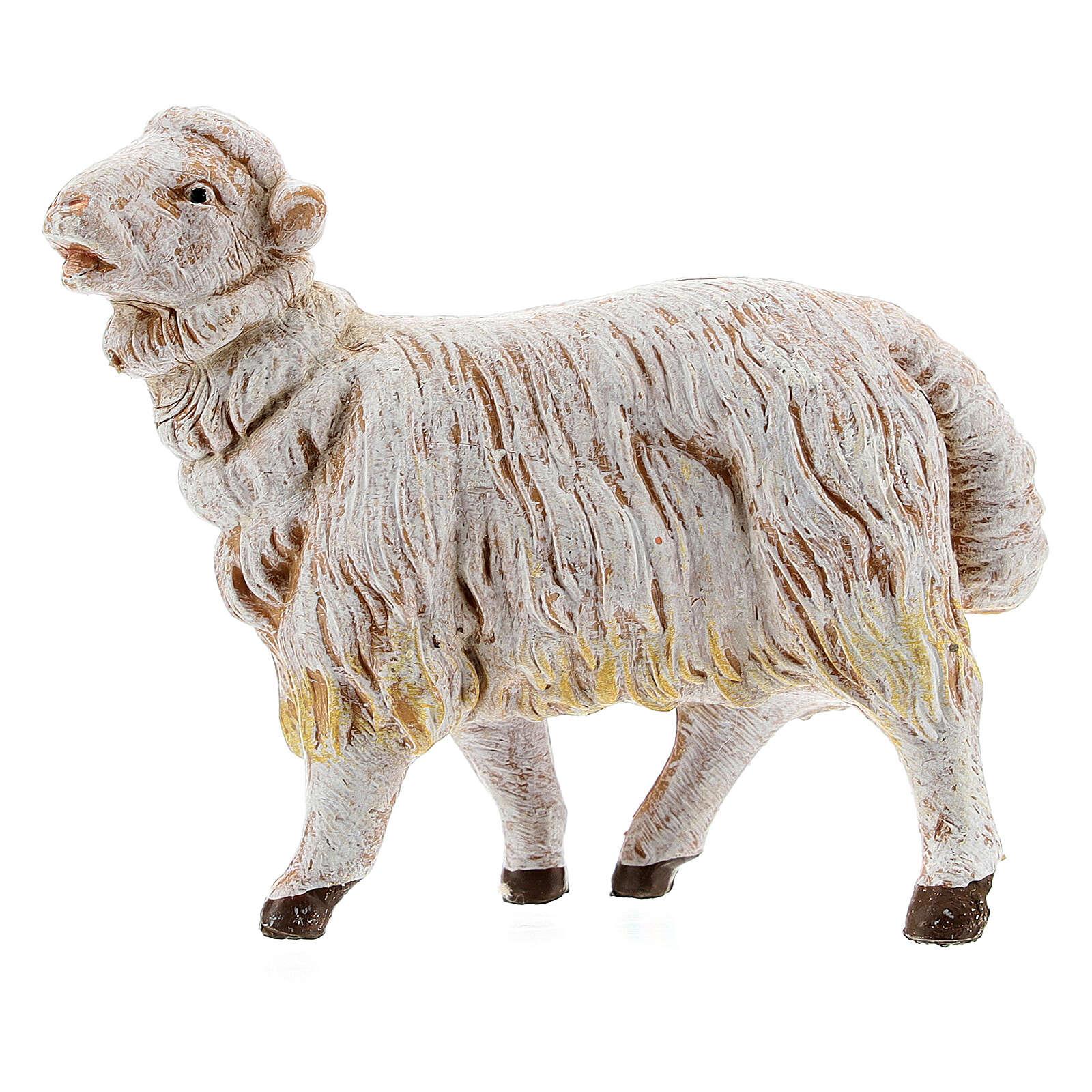 Pecore set 3 pezzi per presepe di altezza media 15 cm Fontanini 4