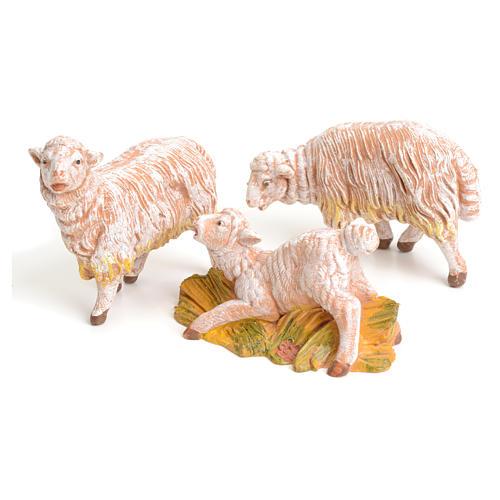Pecore set 3 pezzi 15 cm Fontanini 1