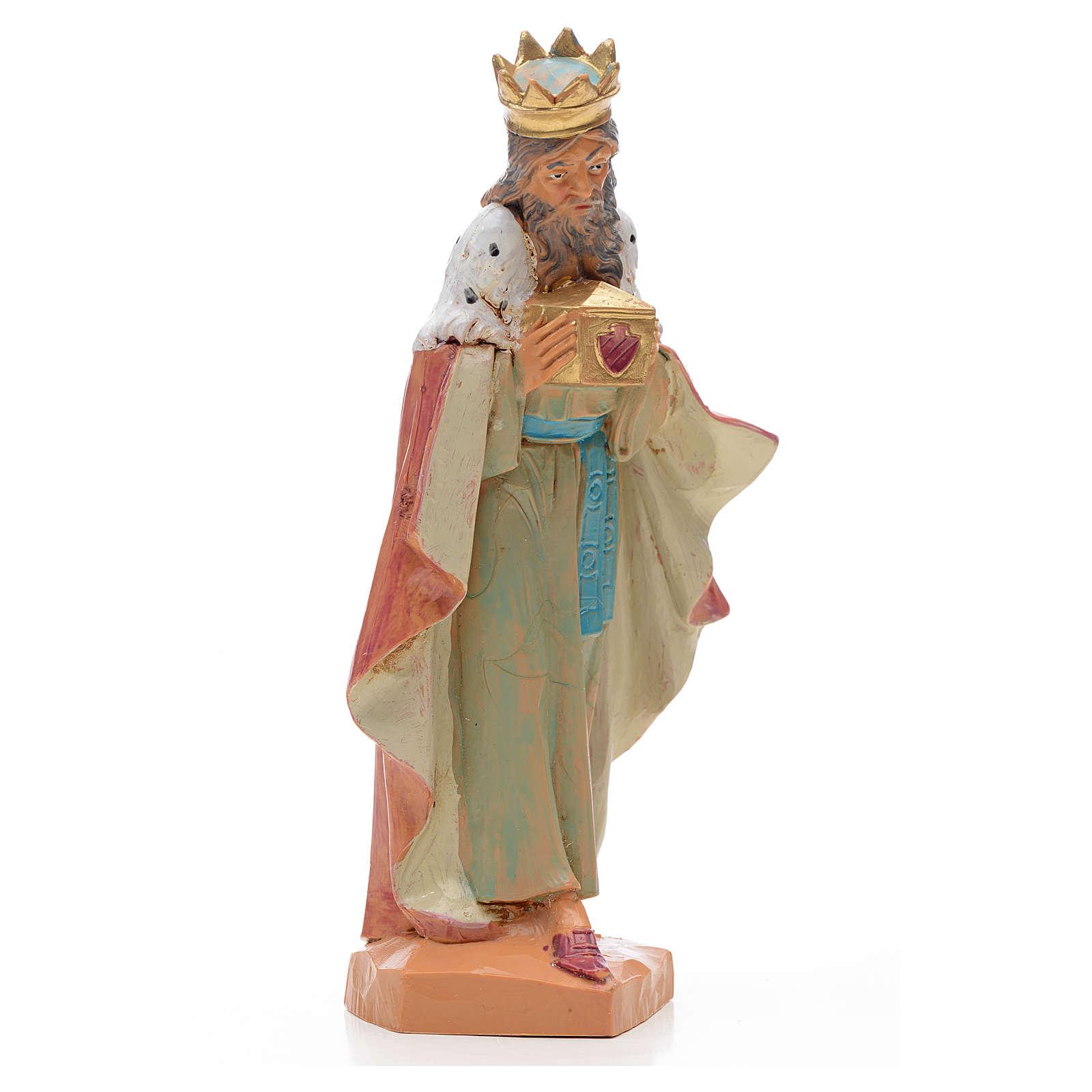 Rey blanco 17 cm Fontanini 3