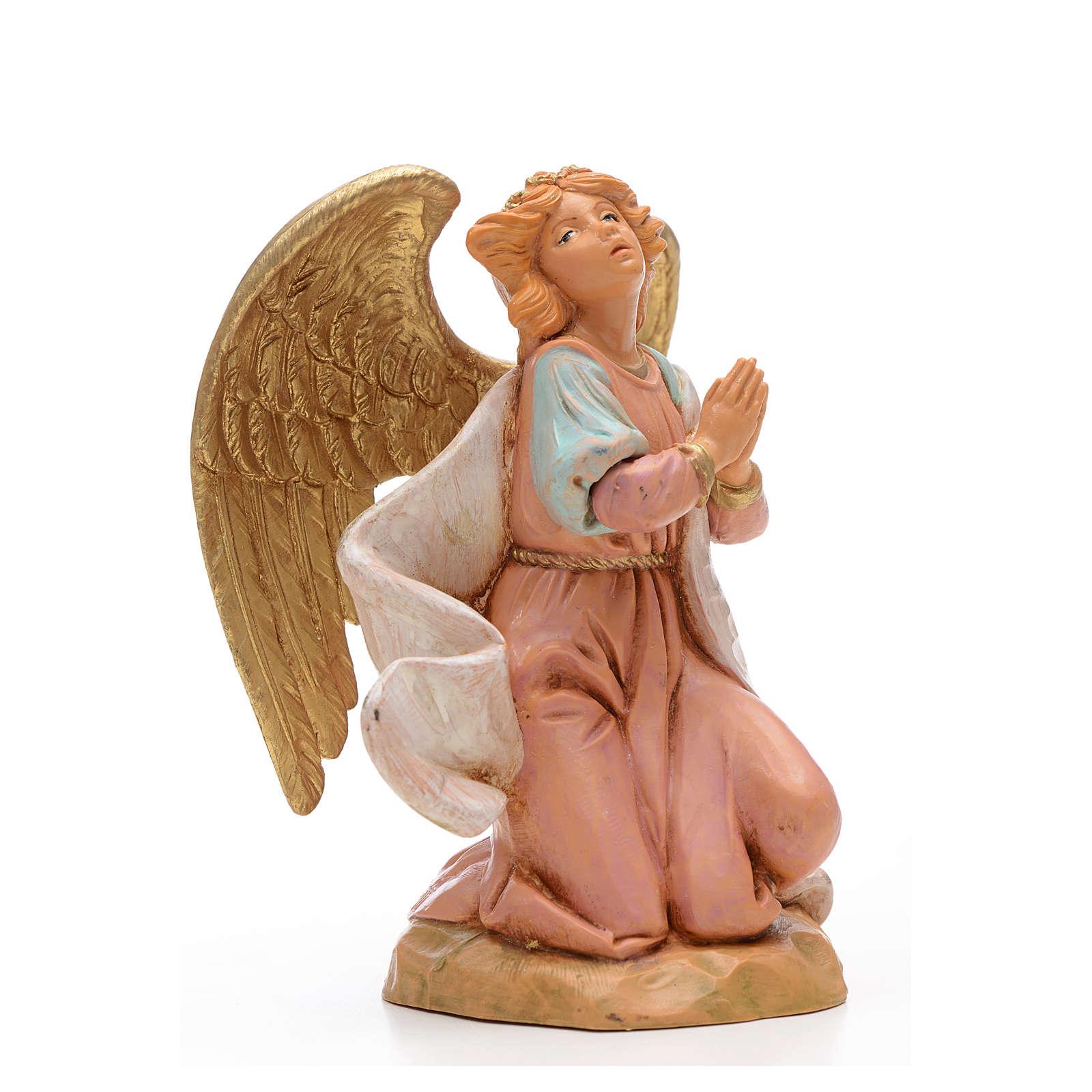 Ange à genoux crèche 17 cm Fontanini 3