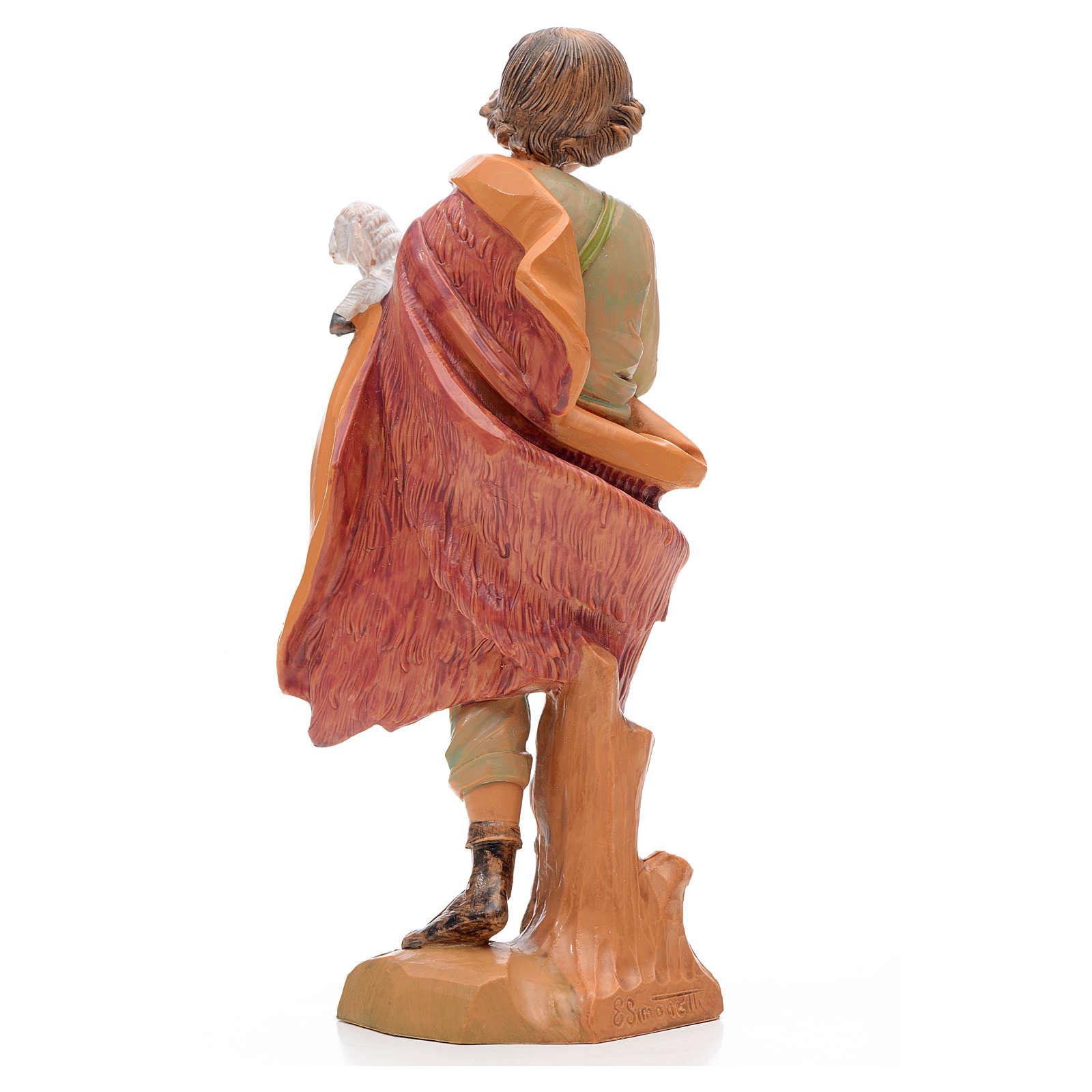 Pastore con agnello 17 cm Fontanini 3