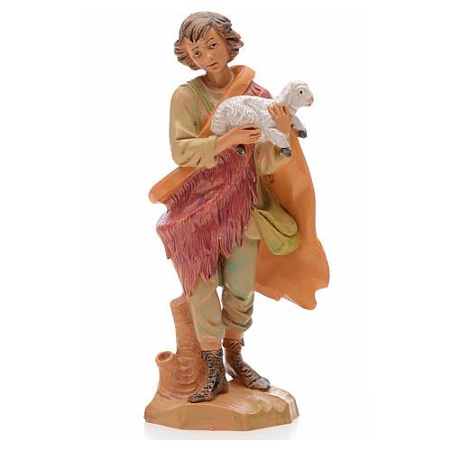 Pastore con agnello 17 cm Fontanini 1