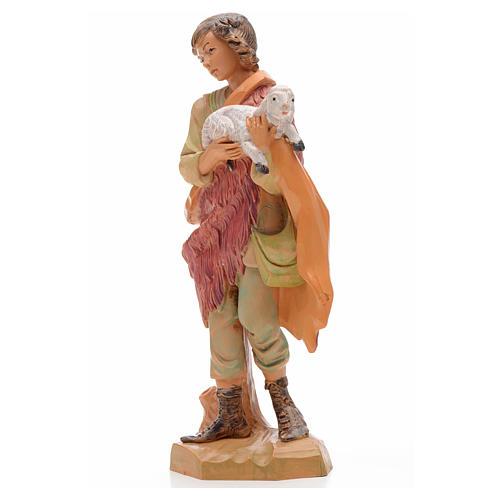 Pastore con agnello 17 cm Fontanini 2