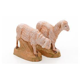 Pecore 17 cm Fontanini 2pz s3