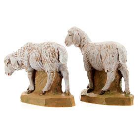 Pecore 17 cm Fontanini 2pz s5
