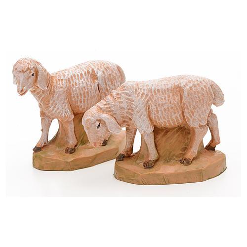 Pecore 17 cm Fontanini 2pz 2