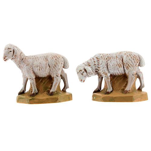 Pecore 17 cm Fontanini 2pz 1